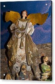 Angel In Petaluma California Usa Dsc3766 Acrylic Print by Wingsdomain Art and Photography