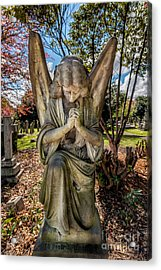 Angel In Prayer Acrylic Print