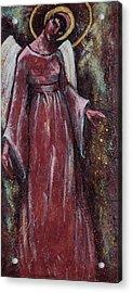 Angel Judy Acrylic Print by Mary DuCharme