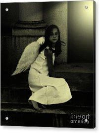 Angel Light Acrylic Print by Holly Ethan