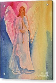 Angel Light Acrylic Print by Linda Rupard