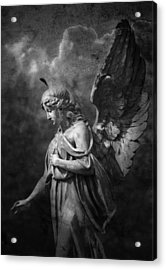 Angel Acrylic Print by Marc Huebner