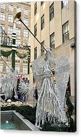Angel New York City Acrylic Print