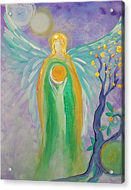 Angel Of Acceptance Acrylic Print