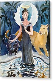 Angel Of Balance And Harmony Acrylic Print