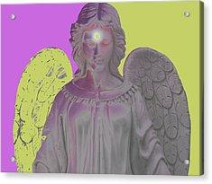 Angel Of Devotion No. 07 Acrylic Print