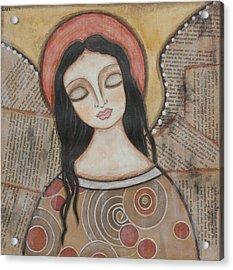 Angel Of Dreams Acrylic Print by Rain Ririn