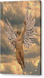 Angel Of Dulce De Leche Acrylic Print