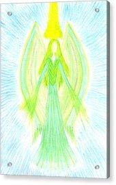 Angel Of Generosity Acrylic Print by Konstadina Sadoriniou - Adhen