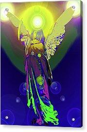Angel Of Harmony No. 09 Acrylic Print by Ramon Labusch