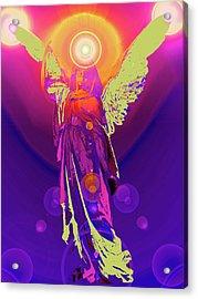 Angel Of Harmony No. 10 Acrylic Print by Ramon Labusch