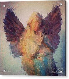 Angel Of Hope Acrylic Print by Robert ONeil