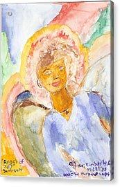 Angel Of Joy Acrylic Print by Kimberly Ware