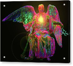 Angel Of Justice No. 03 Acrylic Print by Ramon Labusch