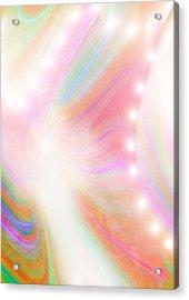 Angel Of Light And Colour Acrylic Print by Mairin Gilmartin