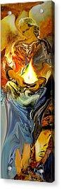 Angel Of Light Acrylic Print by Anne Weirich