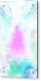 Angel Of Light Acrylic Print by Rosana Ortiz