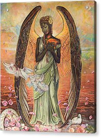Angel Of Love Acrylic Print by Buena Johnson