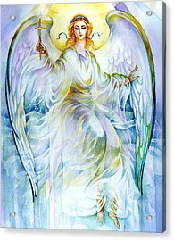 Angel Of Love Acrylic Print by Karen Showell