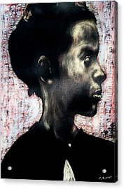 Angel Of Mercy Acrylic Print by Chester Elmore