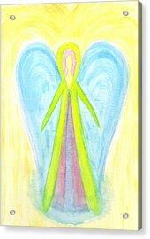 Angel Of Protection Acrylic Print by Konstadina Sadoriniou - Adhen