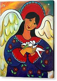 Angel Of Renewal Acrylic Print