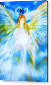 Angel Of Serenity Acrylic Print
