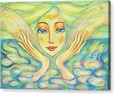 Angel Of Serenity Acrylic Print