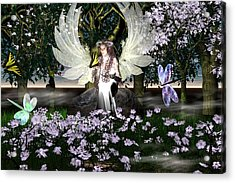 Angel Of Thankfulness Acrylic Print