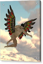 Angel Of The Party Acrylic Print