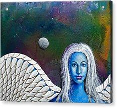Angel Of The Shepherd Moon Acrylic Print by Lee Pantas