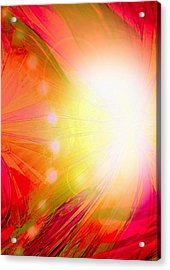 Angel Of Transformation Acrylic Print by Mairin Gilmartin