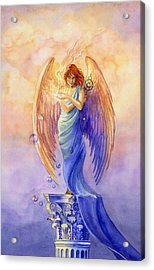 Angel Of Truth And Illusion Acrylic Print