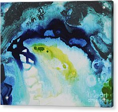 Angel On The Water Acrylic Print