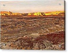 Angel Peak Badlands - New Mexico - Landscape Acrylic Print by Jason Politte