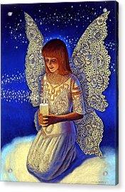 Angel Prayer Acrylic Print