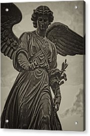 Angel Statue Bethesda Fountain Central Park Acrylic Print