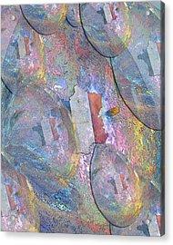 Angel Tears For France Acrylic Print by Michele Avanti