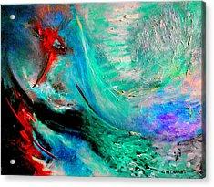 Angel Vortex Acrylic Print by Michael Durst
