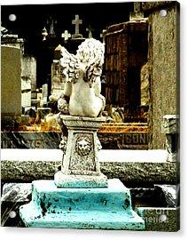 Angel Watching Over Me Acrylic Print