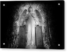 Angel Watching Over You Acrylic Print