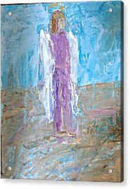 Angel With Confidence Acrylic Print