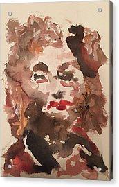 Angela IIi Acrylic Print by Khalid Alzayani