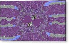 Angelfish Acrylic Print by Thomas Smith