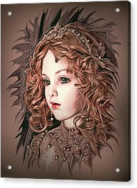 Angelic Doll Acrylic Print