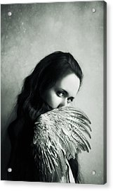 Angelic Acrylic Print by Art of Invi