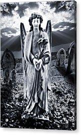 Angelic Light Acrylic Print by Meirion Matthias
