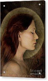 Angelic Portrait Acrylic Print