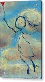 Angelica Sent To Heaven Acrylic Print by Ricky Sencion