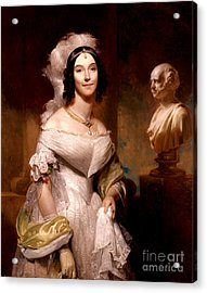 Angelica Van Buren, First Lady Acrylic Print by Science Source
